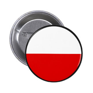 Poland quality Flag Circle 6 Cm Round Badge