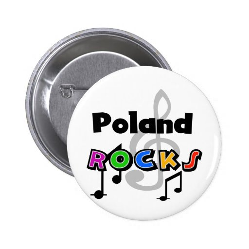 Poland Rocks Pins