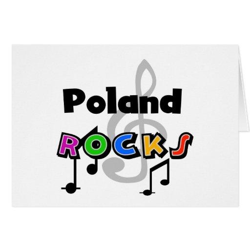 Poland Rocks Greeting Card
