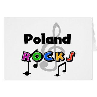 Poland Rocks Card