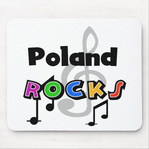 Poland Rocks Mouse Pad