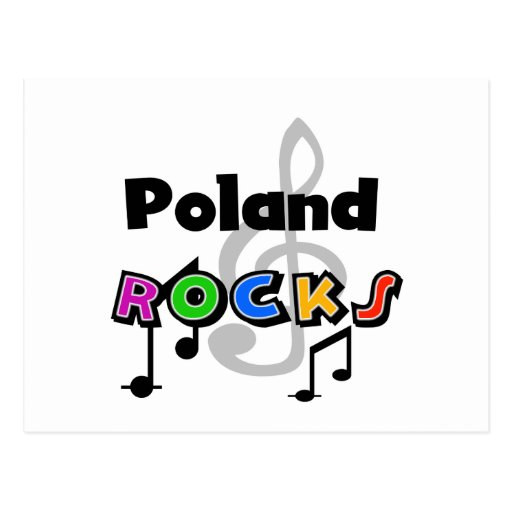 Poland Rocks Post Card