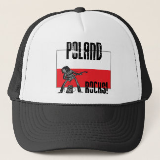 Poland Rocks Trucker Hat
