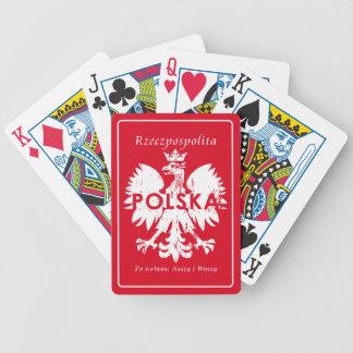 Poland Rzeczpospolita Polska Polish Eagle Bicycle Playing Cards
