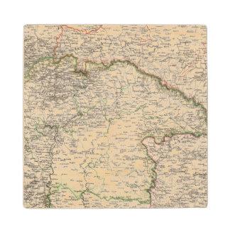 Poland, Slovakia Wood Coaster
