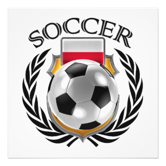 Poland Soccer 2016 Fan Gear Photo Print