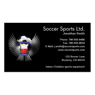 Poland Soccer Champions Business Cards