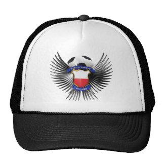 Poland Soccer Champions Mesh Hat