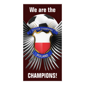 Poland Soccer Champions Picture Card