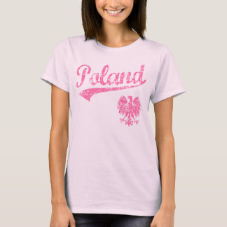 Poland Sport Style T-Shirt