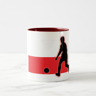 Poland Striker 1 Two-Tone Coffee Mug