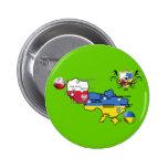 Poland Ukraine 2012 flag map football European Cup Pins