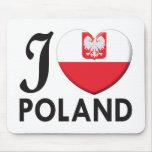 Poland v2 Love Mousemat