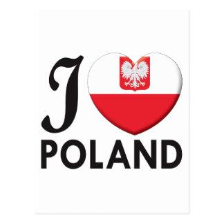 Poland v2 Love Postcard