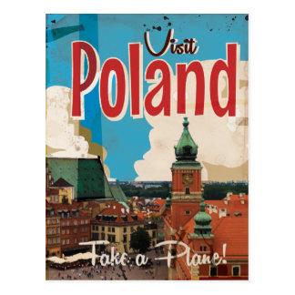 Poland Vintage Travel Poster Post Cards