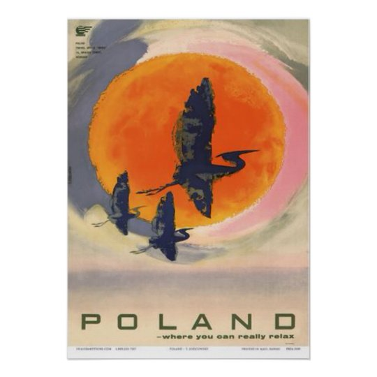 Poland: Where You Can Really Relax, c.1965 Poster