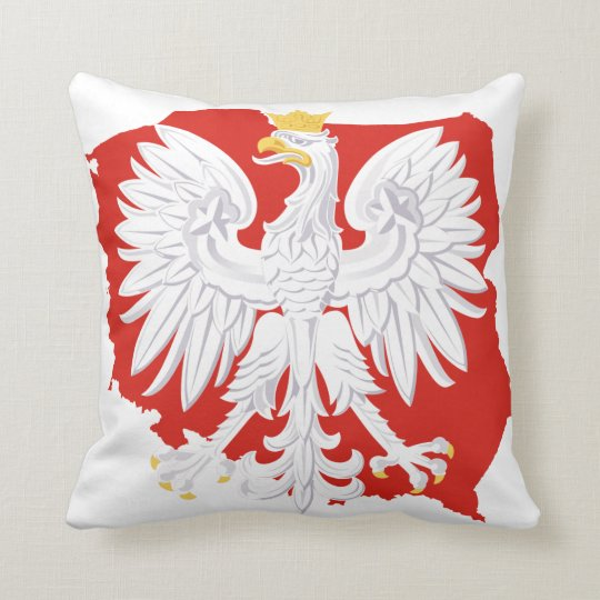 Poland White Eagle MoJo Pillow