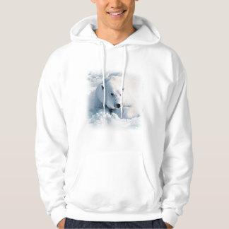 Polar Bear and Snow Hoodie