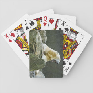 Polar Bear - Angry Playing Cards