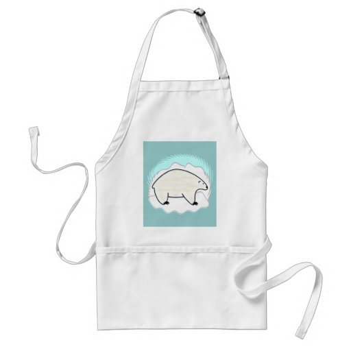 Polar Bear Apron