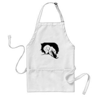 Polar bear aprons