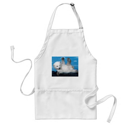 polar-bear aprons