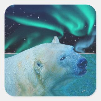 Polar Bear Arctic Wildlife Sticker Series
