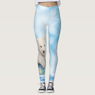 Polar Bear Arctic World Leggings