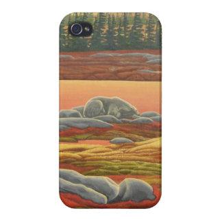 Polar Bear Art iPhone 4 Case Bear Art iPhone Case