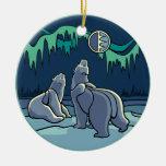 Polar Bear Art Ornament Bear Keepsake Bear Gifts