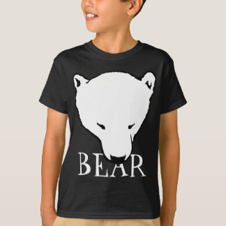 Polar Bear Art T-shirt Kid's Baby Bear Shirts