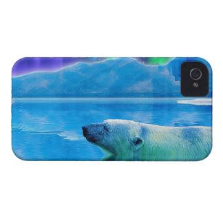 Polar Bear & Aurora Fantasy Art Phone Case