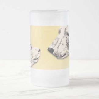 Polar Bear Beer Glasses Bear Mugs Wildlife Art Cup