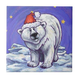 Polar Bear Christmas Tiles