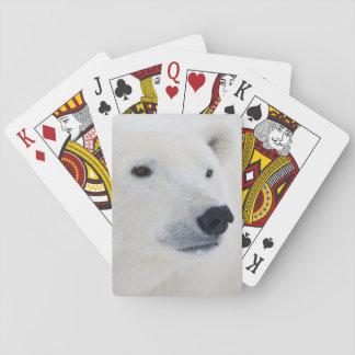 Polar Bear Churchill Playing Cards