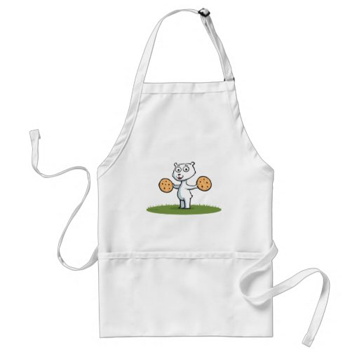 Polar Bear Cookies Aprons