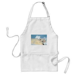 Polar bear cub 1 aprons
