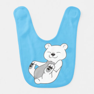 Polar Bear Cub Bib