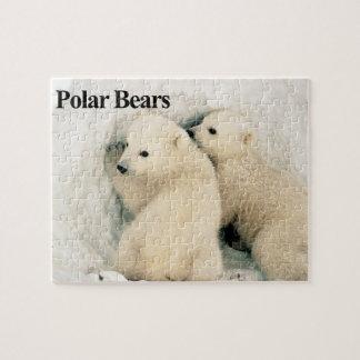 Polar Bear Cubs Puzzle