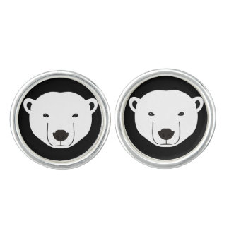 Polar Bear Cuff Links
