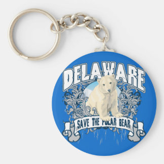 Polar Bear Delaware Key Ring