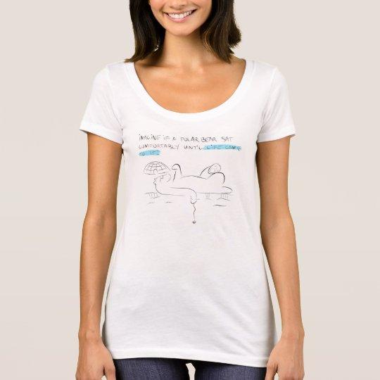 Polar Bear Design Apparel T-Shirt