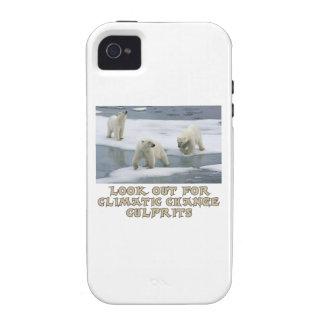 Polar bear designs Case-Mate iPhone 4 case