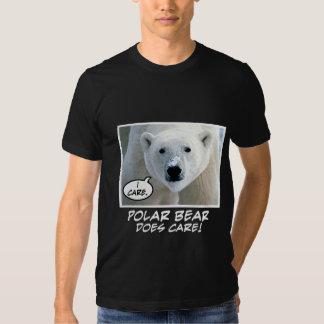 Polar Bear Does Care ! T-shirts