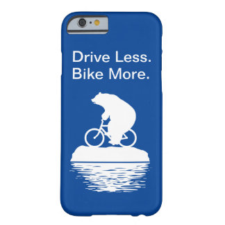 "Polar Bear ""Drive Less. Bike More."" iPhone Case"