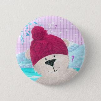 Polar Bear dude 6 Cm Round Badge