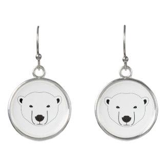 Polar Bear Earrings
