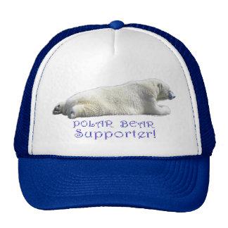 Polar Bear Earth Day Wildlife-Supporter Hat