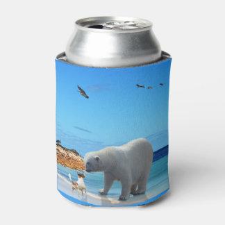 Polar Bear Encounter, Can Cooler