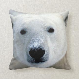 Polar Bear Face Cushion